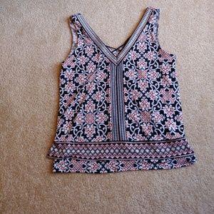 WHBM gently worn tank blouse